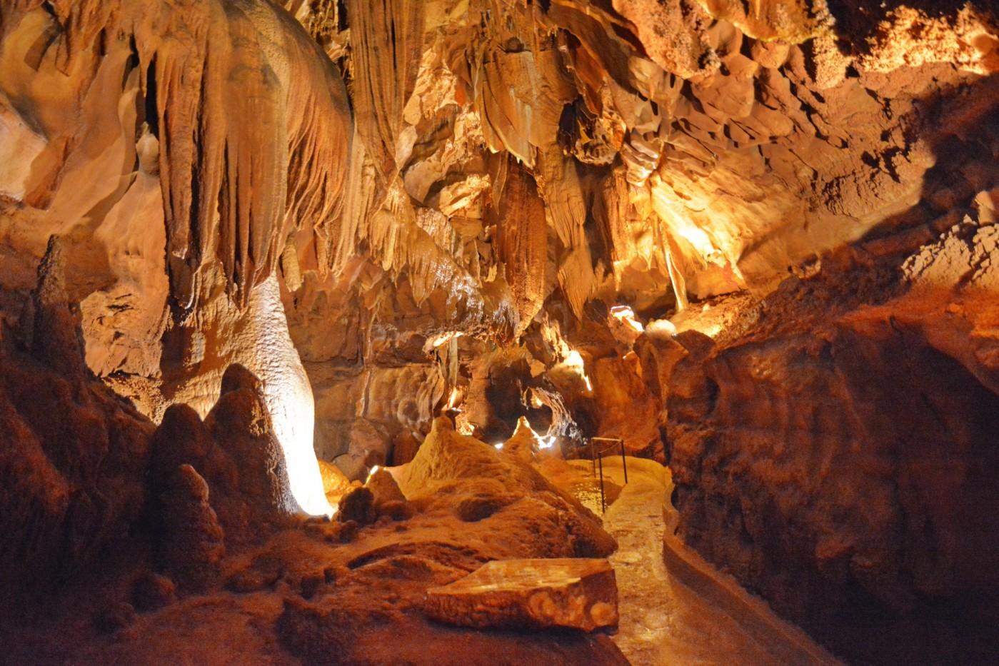 США, Кентукки, Мамонтова пещера, часть-1